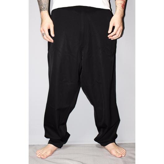 Yohji yamamoto pour homme / Wool gabardine Tapered wide trousers