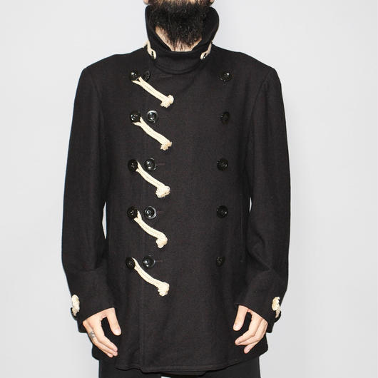 Yohji yamamoto pour homme / FW14 Rope design coat