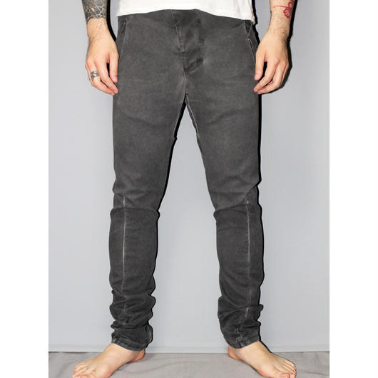 BORIS BIDJAN SABERI / 17AW P11 RESIN DYED PANTS