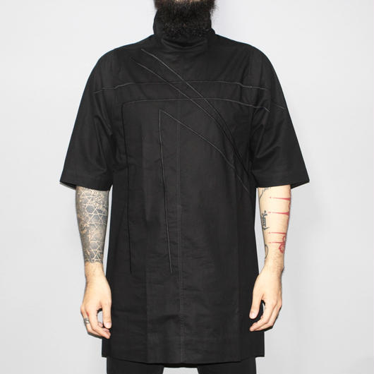 Rick owens / SS16 / CYCLOPS EMBROIDERED HIGH NECK SHIRT