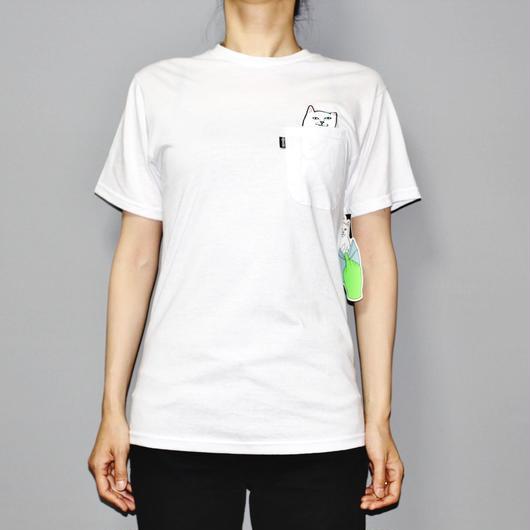 RIPNDIP / LORD NERMAL T-shirt (WHITE)