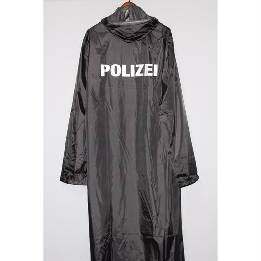 """VETEMENTS / SS16 """"POLIZEI"""" Rain coat"""