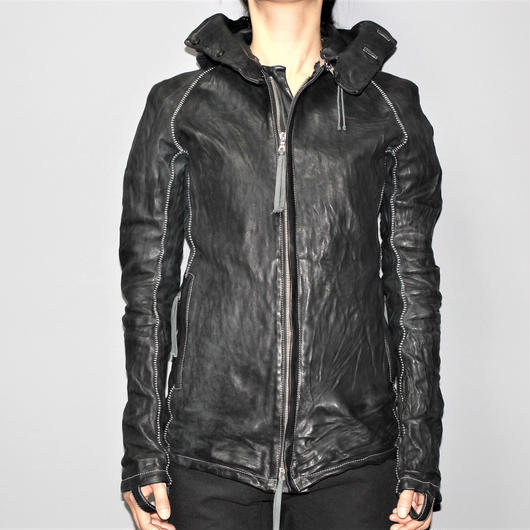 BORIS BIDJAN SABERI / FW15 J2 Body molded Leather jacket