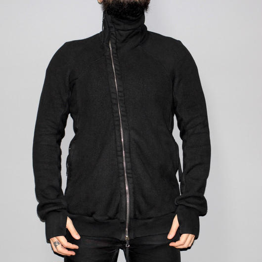 BORIS BIDJAN SABERI / ZIPPER 3 High neck zip up cottonjacket