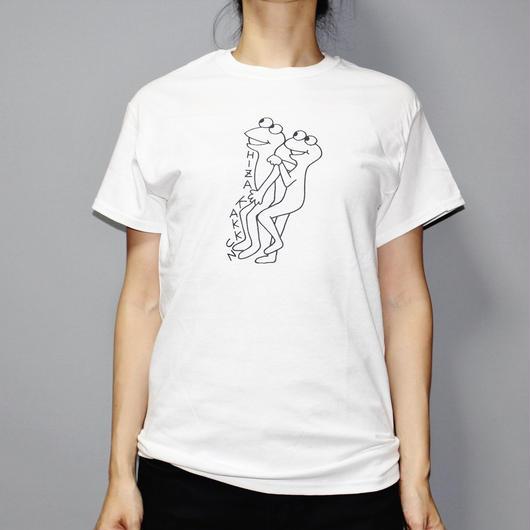 C by KEN KAGAMI / HIZA KAKKUN / T-shirt (White)