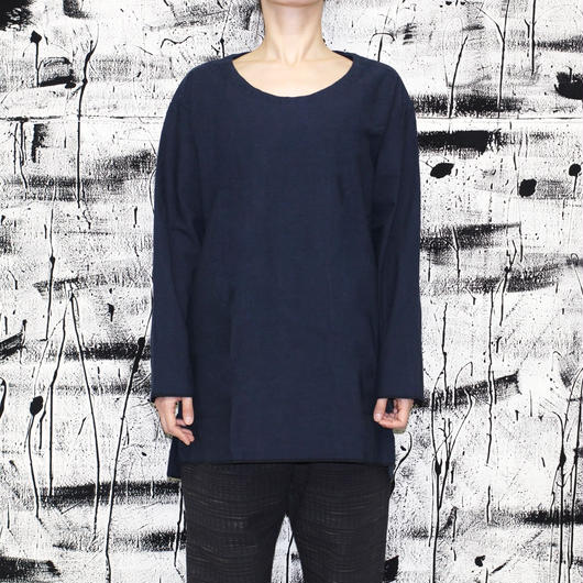the Bang by the Sakaki / 襦袢 U L/S / NAVY
