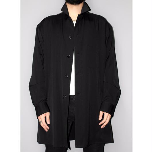 Yohji yamamoto pour homme / SS16 Oversized wool gabardine shirt