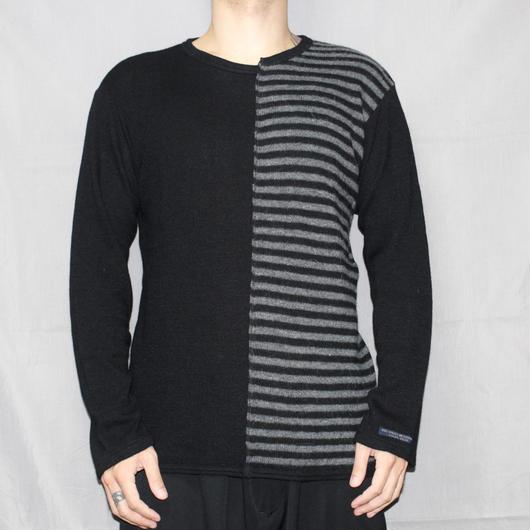 Yohji yamamoto pour homme (REGURATION) / FW14 Asymmetry angora knit