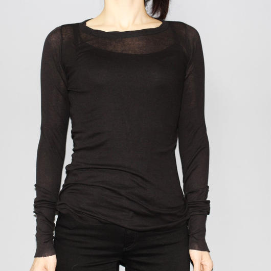Rick owens / Cotton long sleeve T-shirt