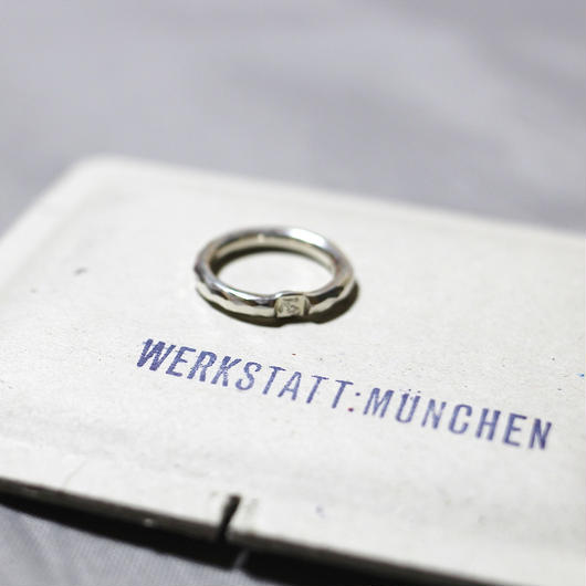 WERKSTATT MUNCHEN / SILVER RING