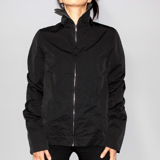 DRKSHDW by Rick owens / High collar zip jacket