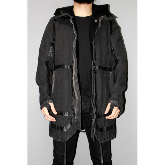 BORIS BIDJAN SABERI / 17AW TAPED REVERSIBLE OUTDOOR JACKET
