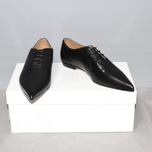Maison Margiela 22 / Leather pointed toe shoes