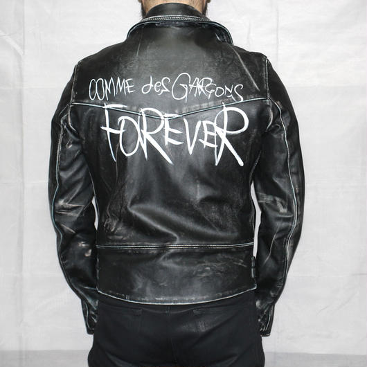Comme des garcons / Limited for AOYAMA store. Lewis leather jacket