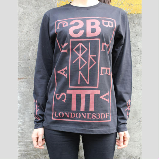 SANG BLEU /  TTT LONG SLEEVE T-SHIRT