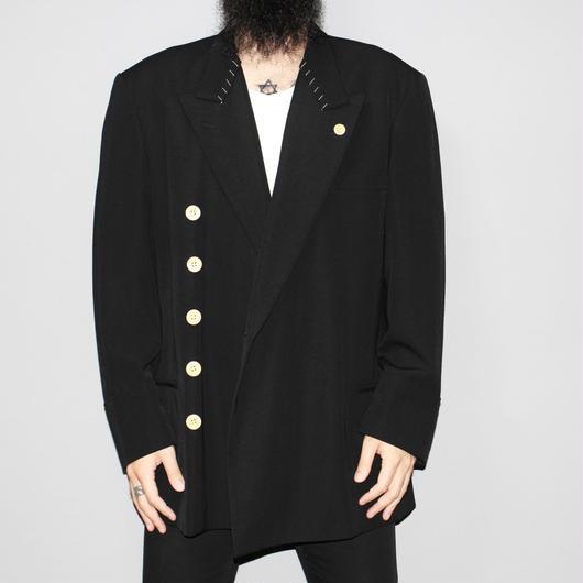 Yohji yamamoto pour homme (ARCHIVES) / FW98 White stitch design jacket