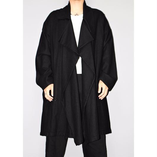 "Yohji yamamoto pour homme / "" TERO TERO"" Wool coat 16AW"