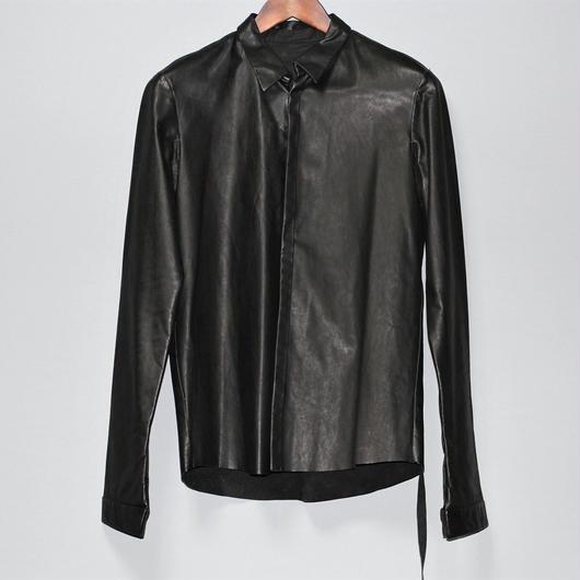 AVANTIN DIETRO / Leather shirt