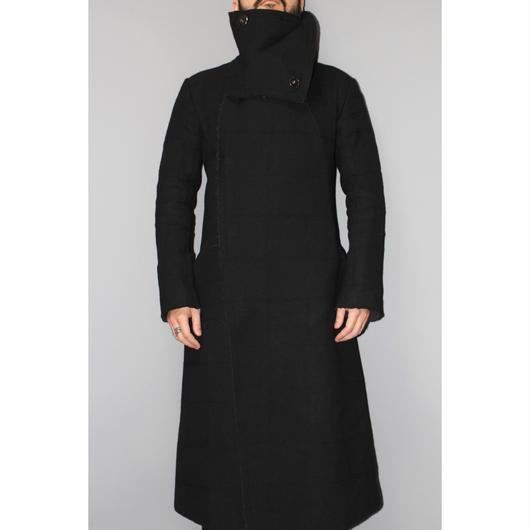 nude:masahiko maruyama / High neck wool long coat