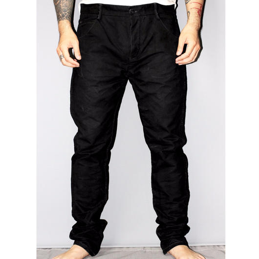 Layer-0 / 5 Pocket canvas pants