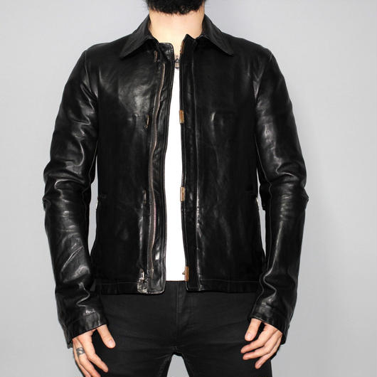 CAROL CHRISTIAN POELL /  Scarstitched Leather jacket