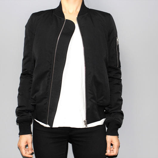 Rick owens / FLIGHT BOMBER JACKET (Down jacket version)