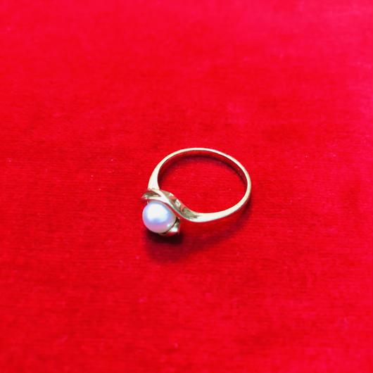 vintage pearl ring #LR22