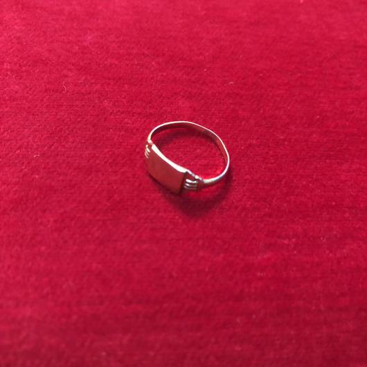 vintage signet ring #TNR077
