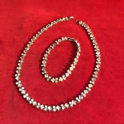 vintage bracelet & necklace