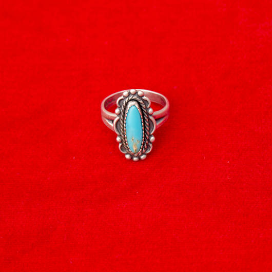 vintage turquoise ring #R044