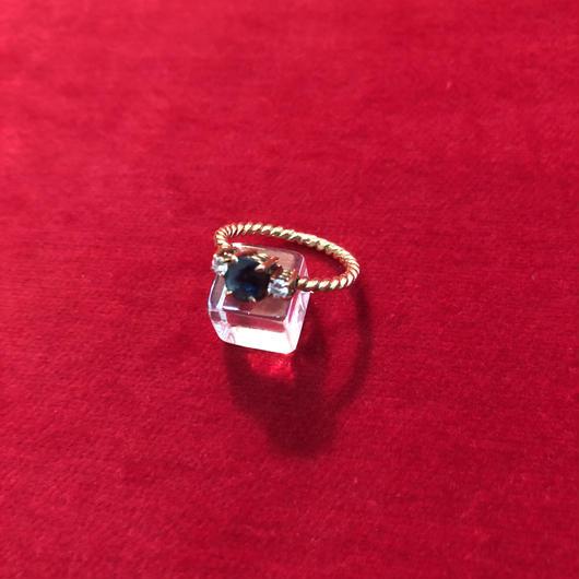 vintage diamond  ring #TNR049