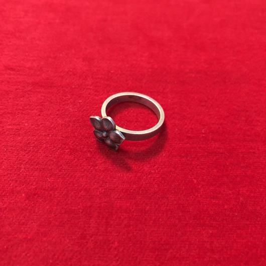 vintage  silver ring #R201849