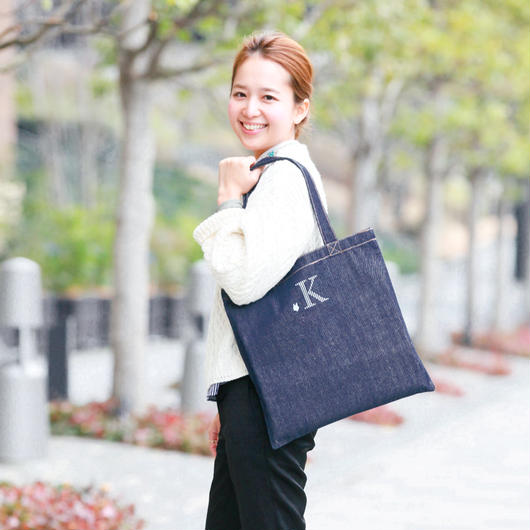 【VERY読者モデル 外村 久美子さん】コラボデニムトートバッグ