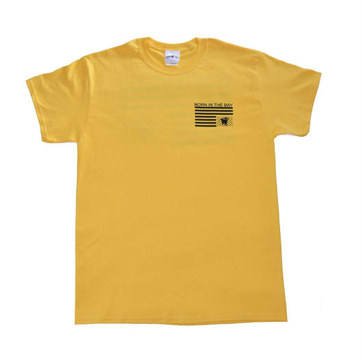 BORN IN THE BAY Tee | Yellow