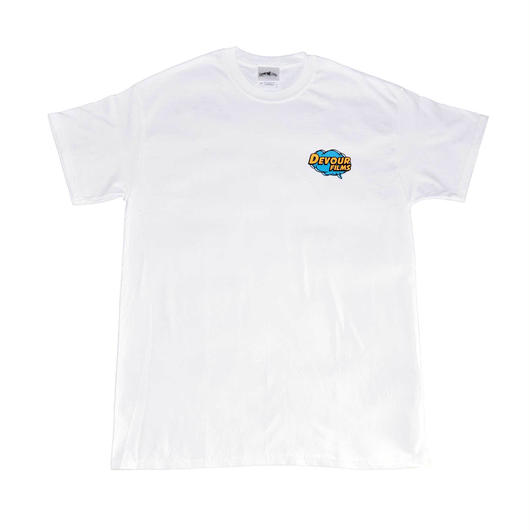 POP LOGO Tee | White