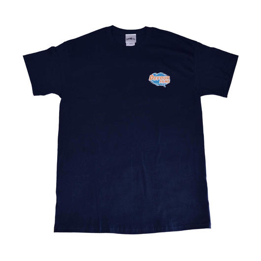 POP LOGO Tee | Navy