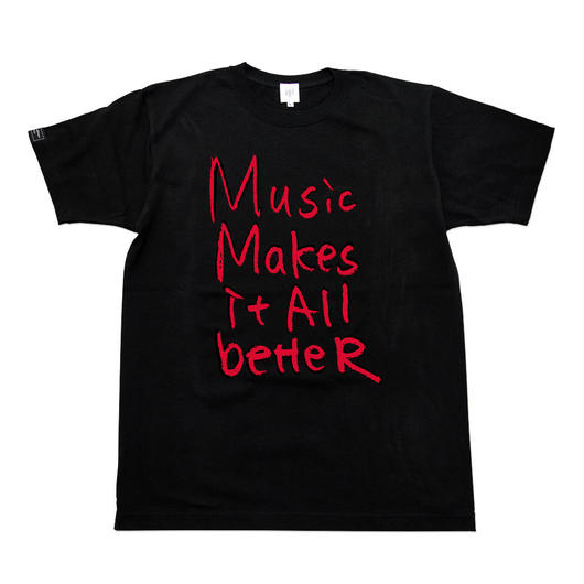 MMIB T-shirt / 6.2oz BLK - BLK27018RD