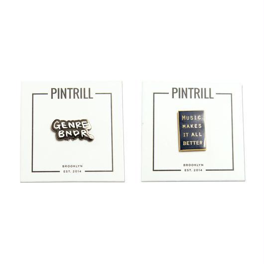 PINTRILL ピンバッジ セット
