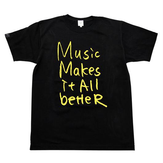 MMIB T-shirt / 6.2oz BLK - BLK27018YW