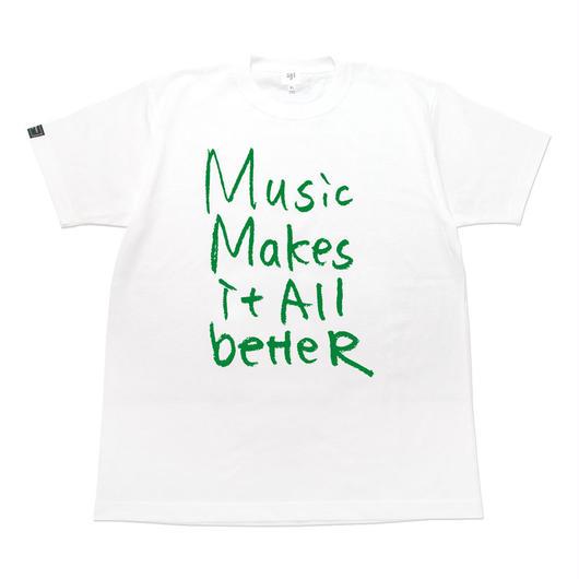 MMIB T-shirt / 6.2oz WHT - WHT27018GN