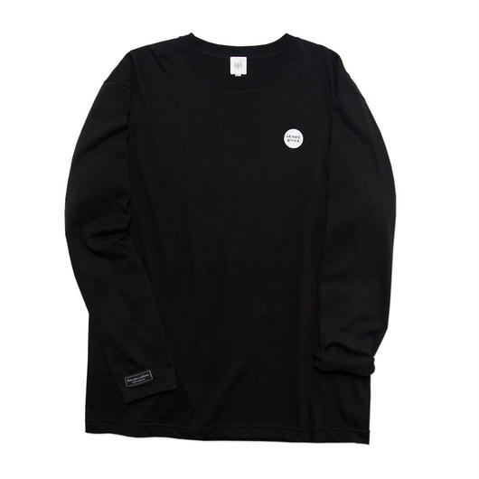 LIMITED ONE POINT Long-Sleeve T-shirt / 6.2oz BLK - BLK27033WH