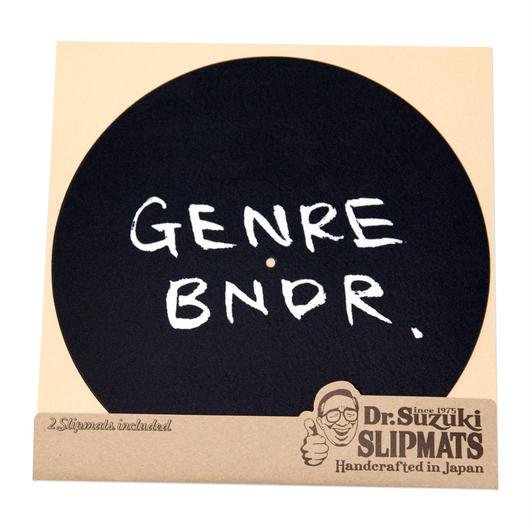 GENRE BNDR × Dr. Suzuki Slipmats