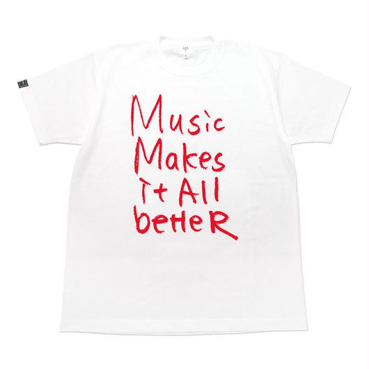 MMIB T-shirt / 6.2oz WHT - WHT27018RD