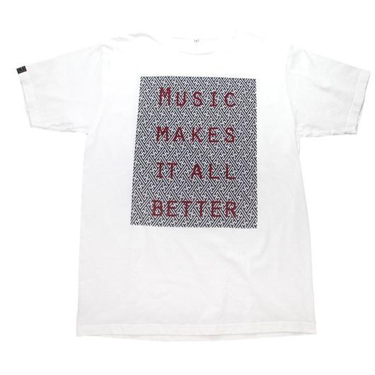 MOSAIC MMIB BOX LOGO T-shirt / 5.6oz WHT - WHT27055RD