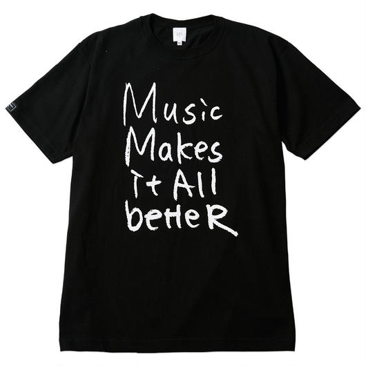MMIB T-shirt / 6.2oz BLK - BLK27018WH
