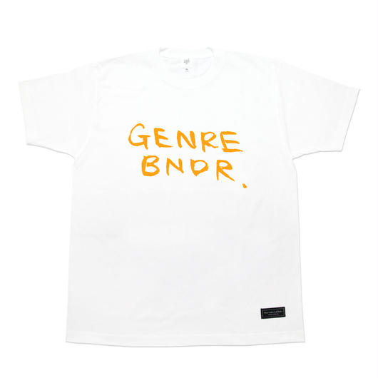 GENRE BNDR T-shirt / 6.2oz WHT - WHT27001OR