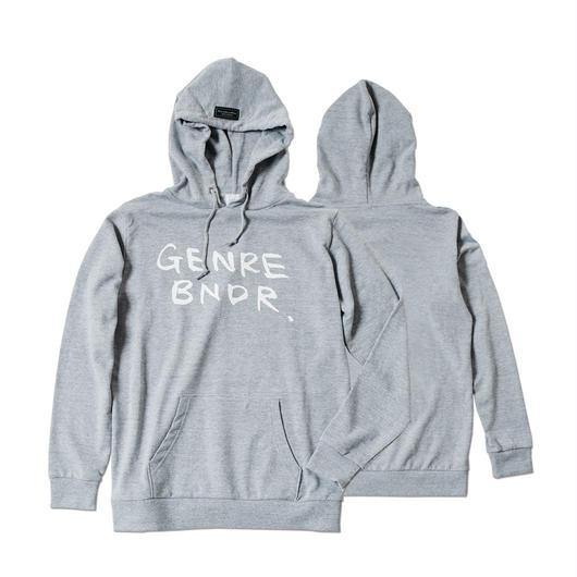 GENRE BNDR Hoodie / 7.4oz GRY - GRY29512WH