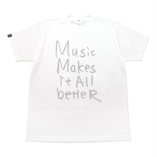 MMIB T-shirt / 6.2oz WHT - WHT27018GY