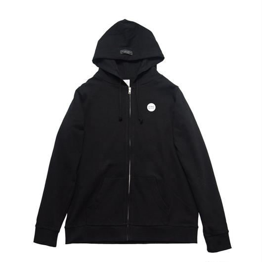 GENRE BNDR One Point Zip-Up / 7.4oz BLK - BLK27045WH