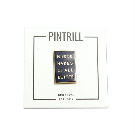 PINTRILL × MMIB ピンバッジ